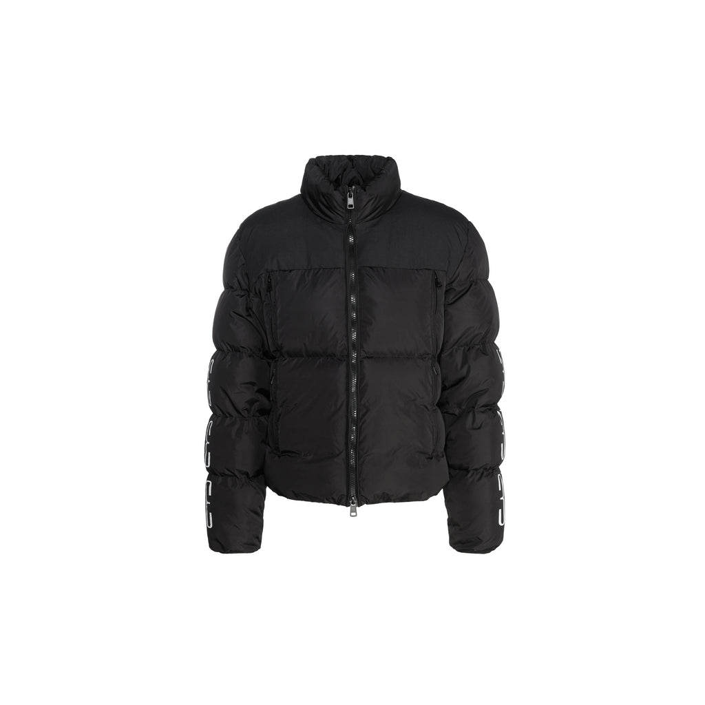 PATCH DOWN JACKET - MATTE BLACK - A3B