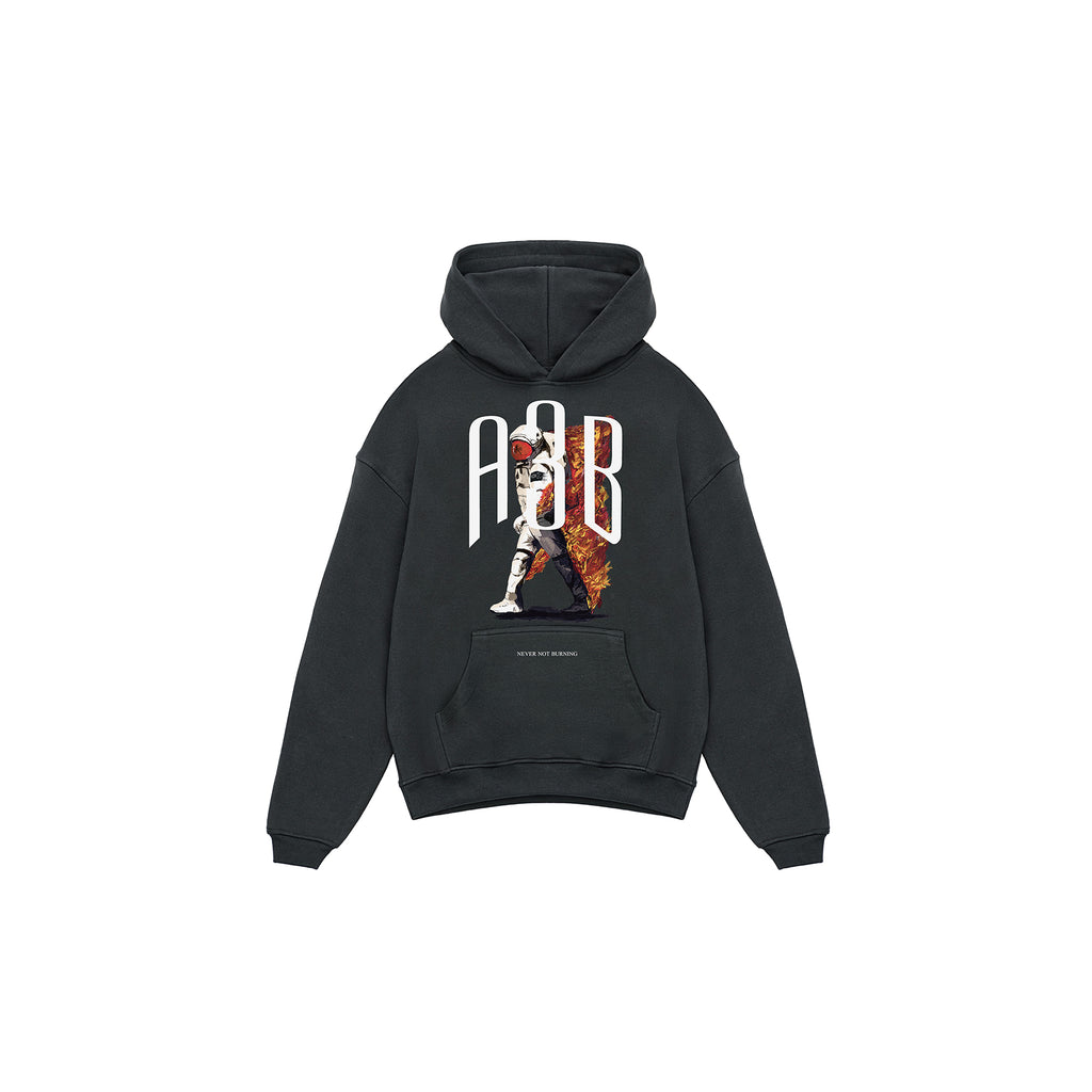 ASTRONAUT HOODIE ANTHRAZIT - A3B