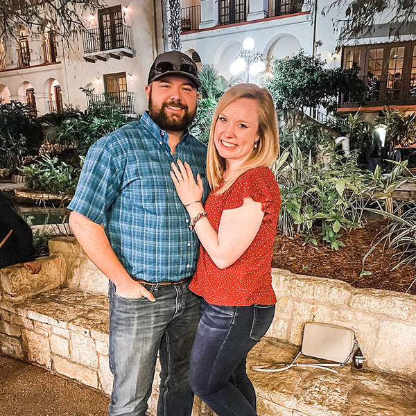 Catherine & Matt Engagement on the San Antonio Boardwalk