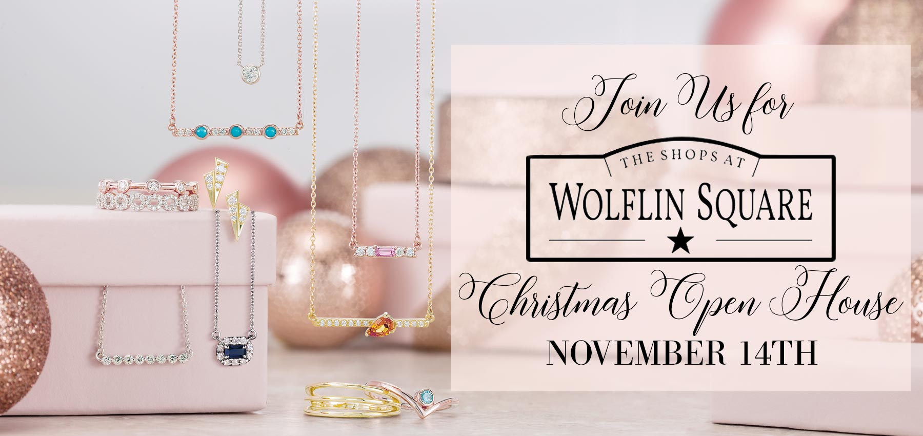 Wolflin Square Christmas Open House