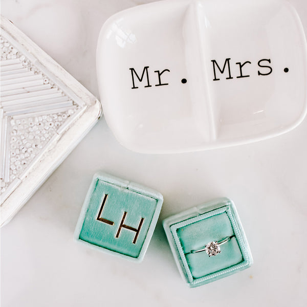 Mr. and Mrs. Wedding Ring