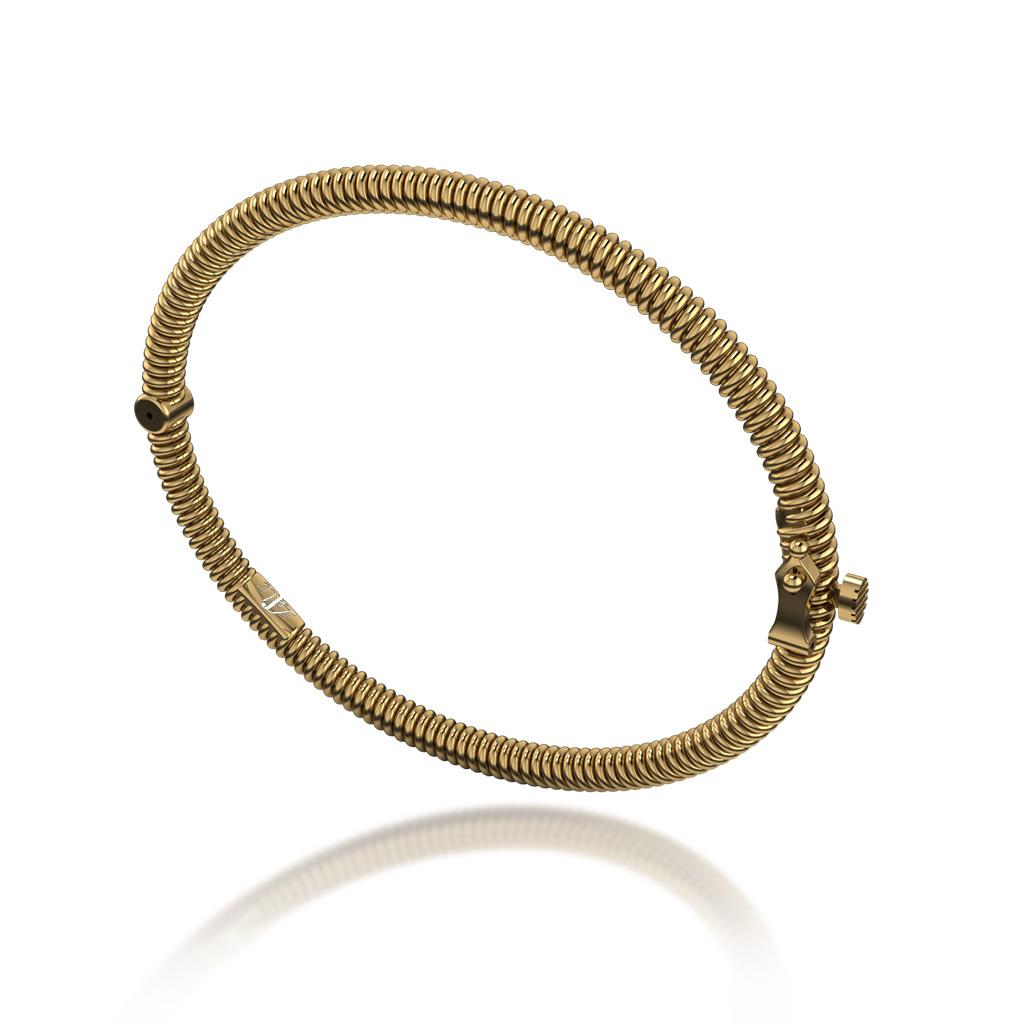 18k Yellow Gold Bangle