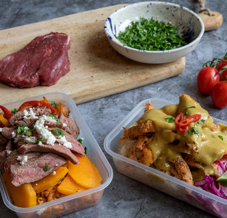 Muscle Gain Lunch Taster Plan