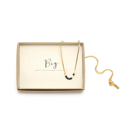 Big Morse Code Chain Necklace