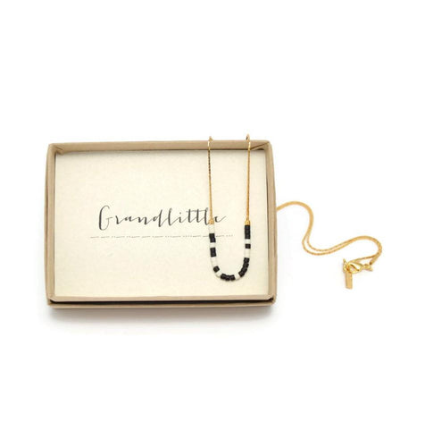 Grandlittle Morse Code Chain Necklace