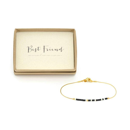 Best Friend Morse Code Chain Bracelet