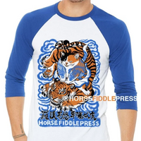 Cat & Tiger 3/4 Sleeve Unisex Shirt