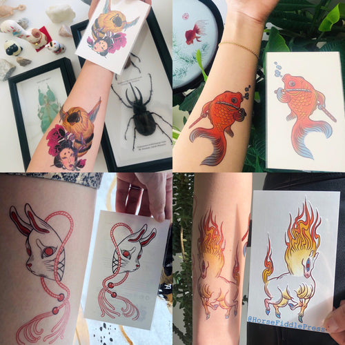 Temporary tattoo BUY 2 GET 1 FREE