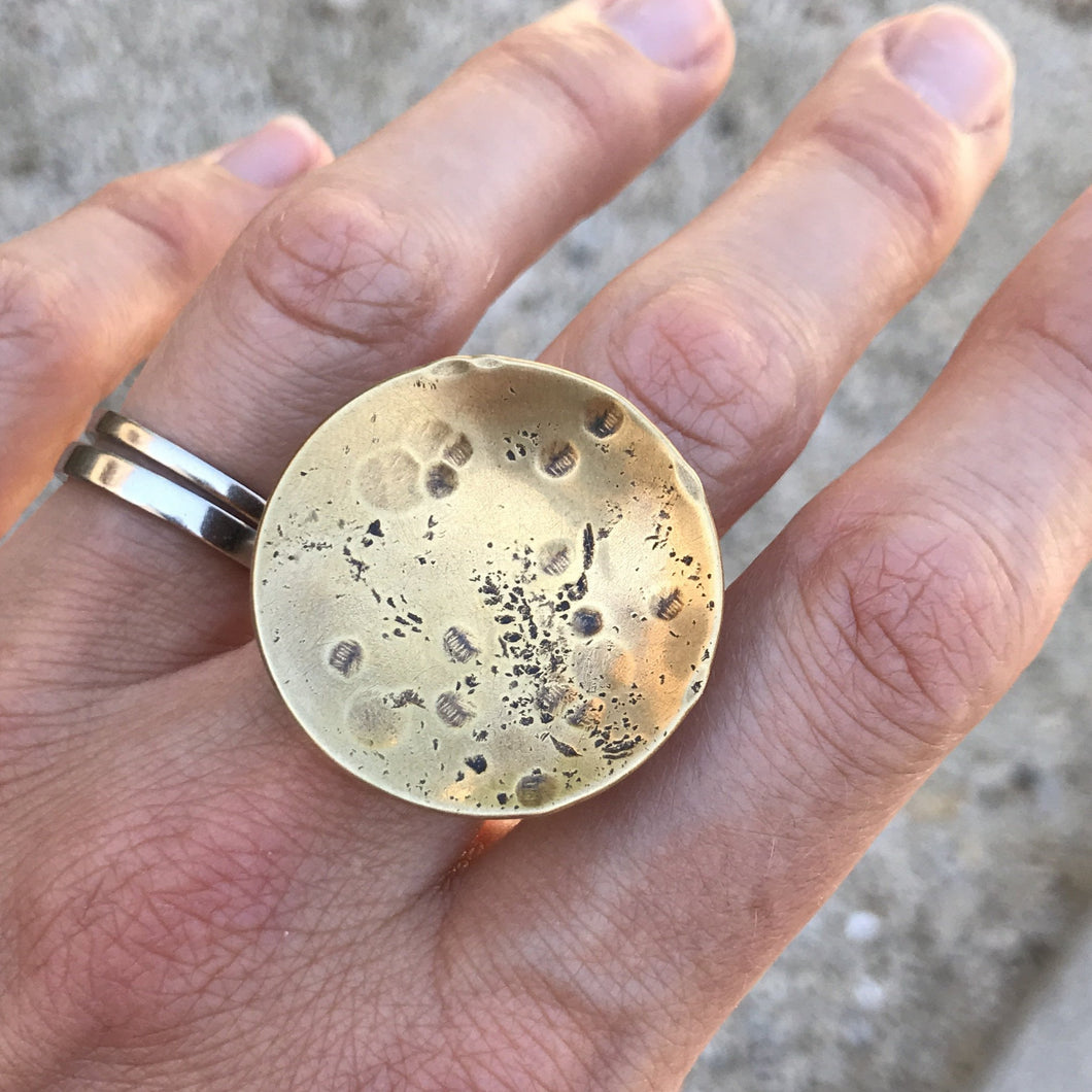 Moonscapes Ring, US 9.5