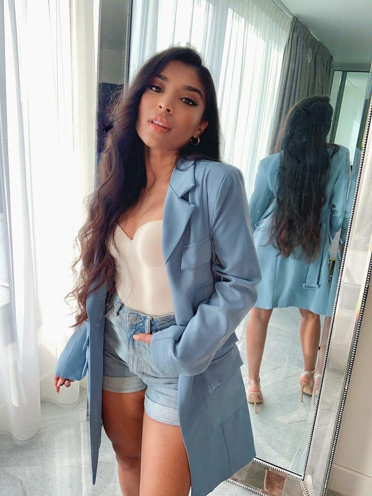 Saint Jean Blazer Dress