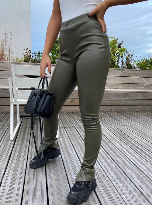 The Famous Split Pants Olive Green