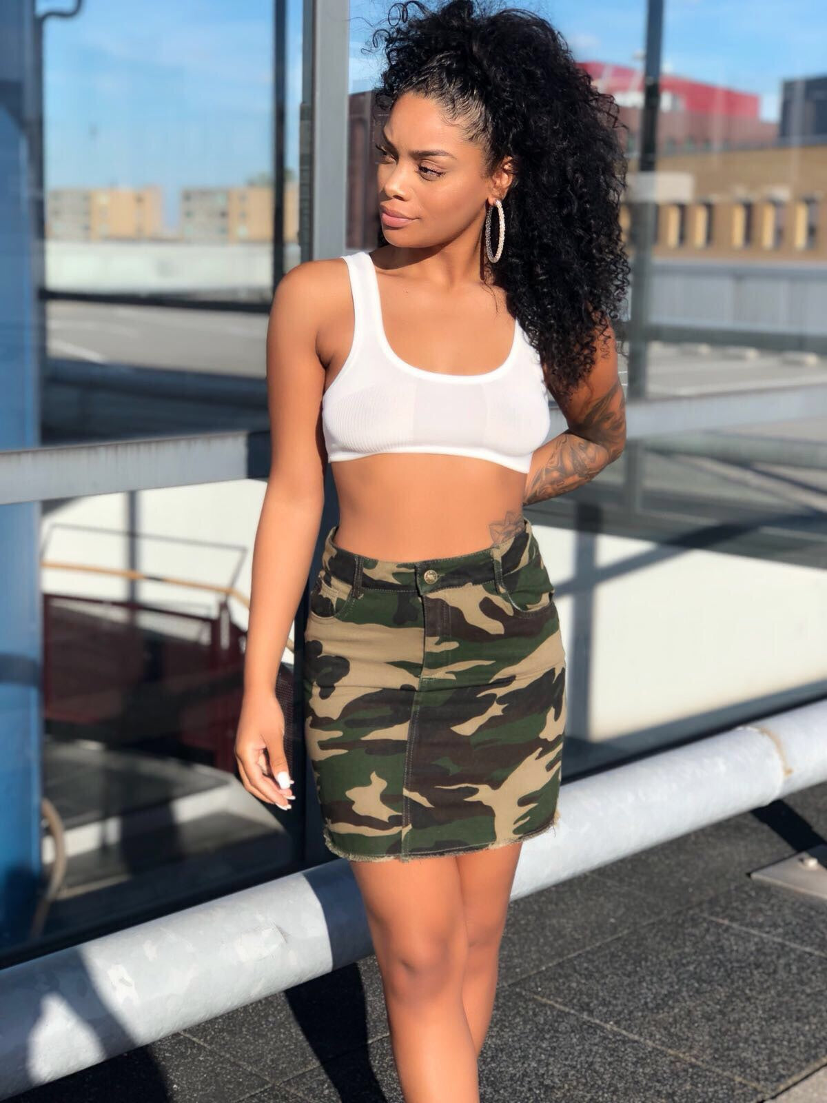 Survivor camo skirt