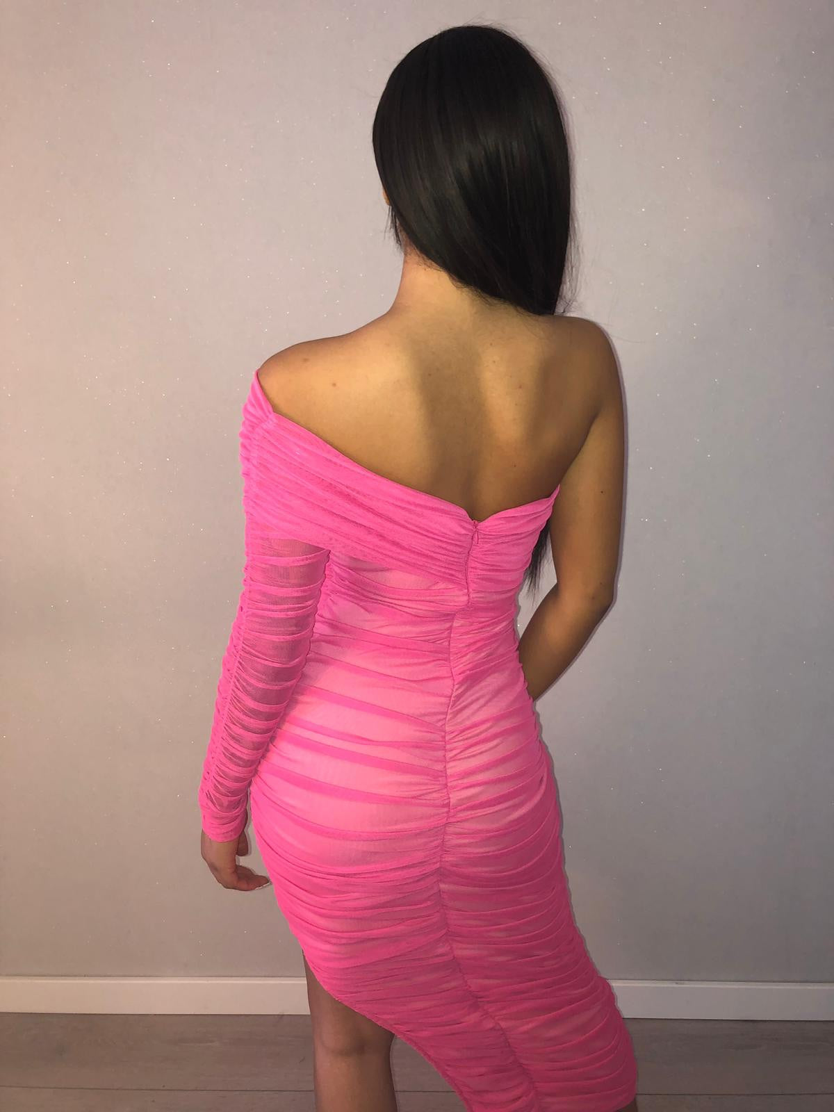 aphrodite ruched dress