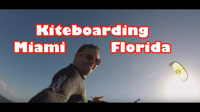 Kiteboarding with Wind Addict – Miami, Florida