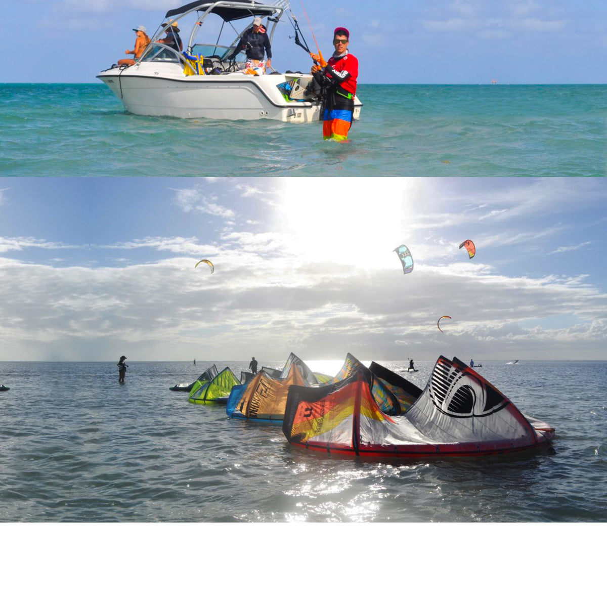 4 HOURS KITE CHARTER + CAPTAIN & ASSISTANCE