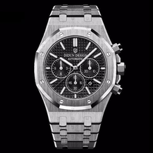 Load image into Gallery viewer, Didun Design Royal One Chronograph - Silver