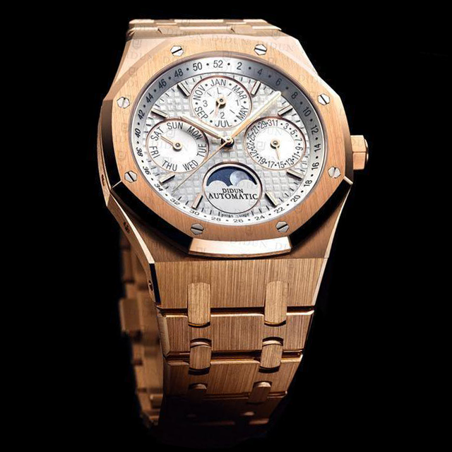 Didun Design Royal One Perpetual Calendar - Rose Gold