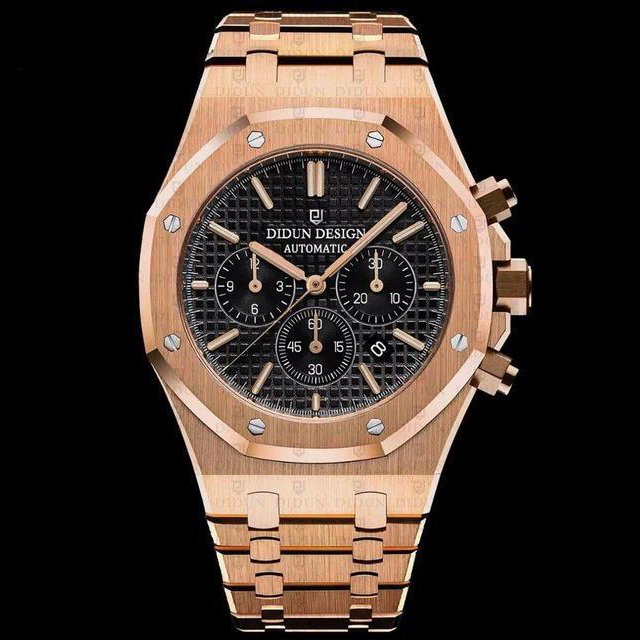Didun Design Royal One Chronograph - Rose Gold