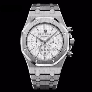 Didun Design Royal One Chronograph - Silver