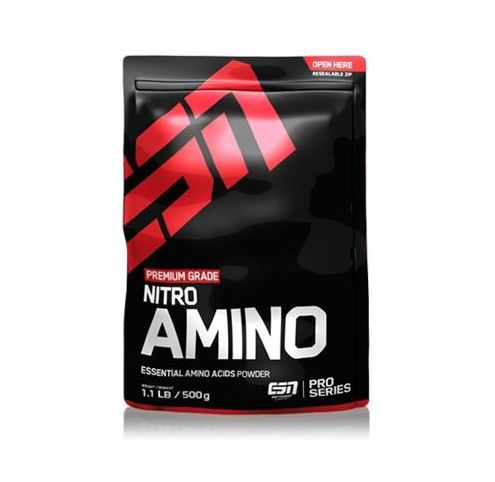 ESN Nitro Amino, 500 g Beutel, Strawberry Crush - Fitness Line