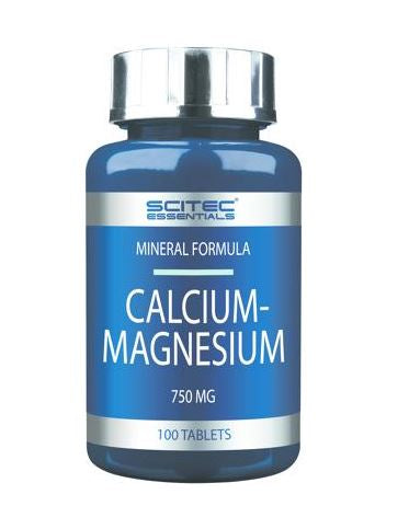 Scitec Essentials Calcium-Magnesium, 100 Tabletten Dose - Fitness Line