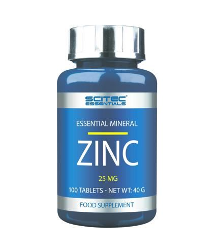 Scitec Essentials Zinc, 100 Tabletten Dose - Fitness Line