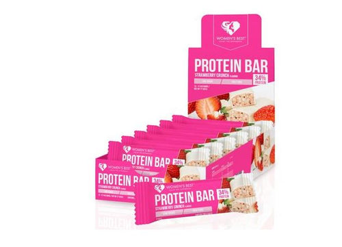 Womens Best Protein Bar, 12 x 44 g Riegel - Fitness Line