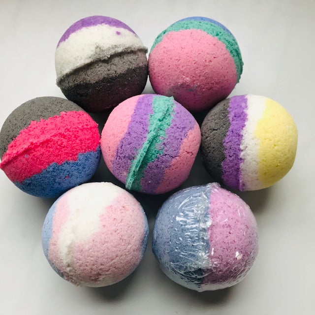 Polysexual Pride Bath Products with Essential Oil Blends.