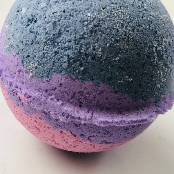 Bisexual pride handmade, natural bath products scented with essential oil blends.