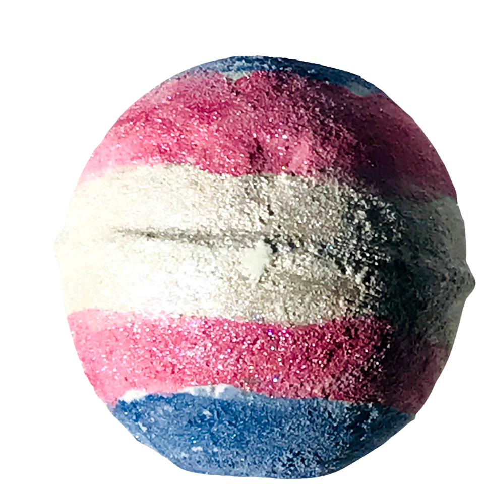 Transgender Pride Bath Products with Essential Oil Blends.