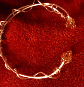 Crystal Tipped Bangle