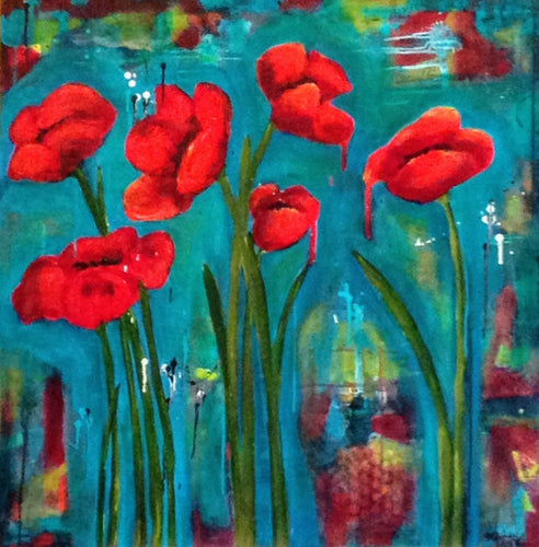 Dripping Poppies
