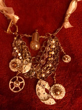 Steampunk Bib Chain Necklace