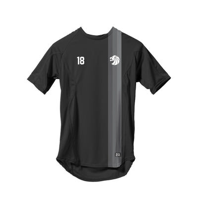 Striped Home Soccer Jersey