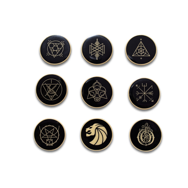 Pin Set - Gold