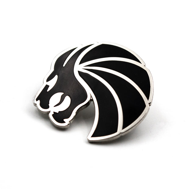 Lion Logo Pin