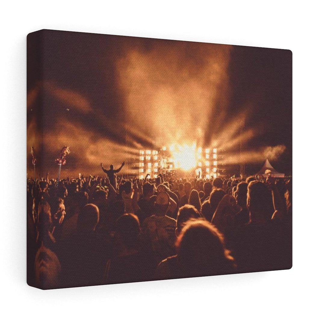 Festival View Wall Canvas