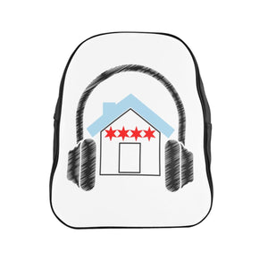 Chicago House Music Backpack front