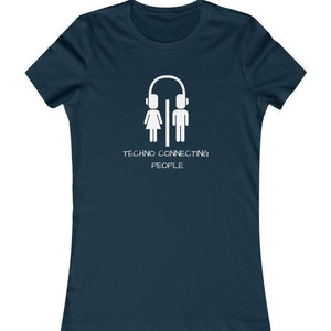 Techno Connecting People Shirt Navy