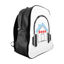Chicago House Music Backpack Side