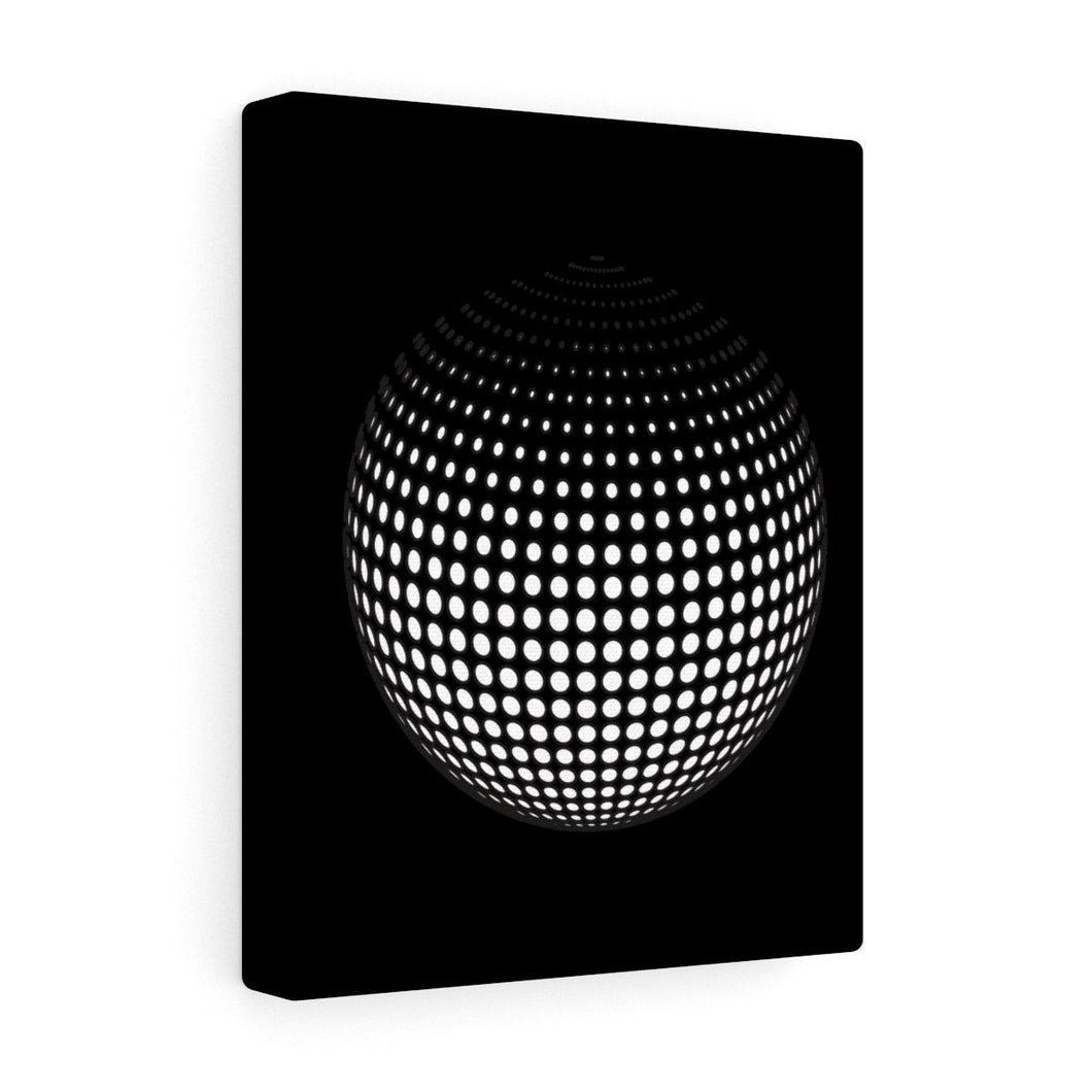 The Disco Ball Premium Wall Canvas