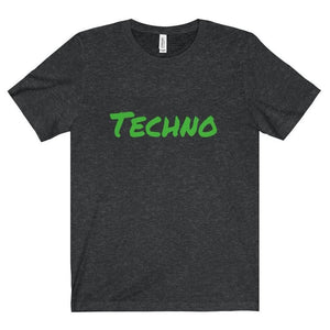 Techno Shirt dark grey