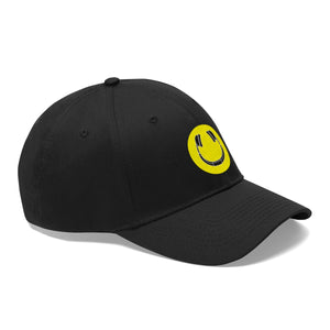 Smiling Headphones Dad Hat