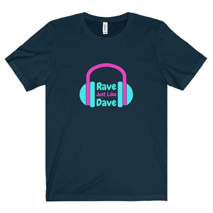 Rave Just Like Dave shirt navy