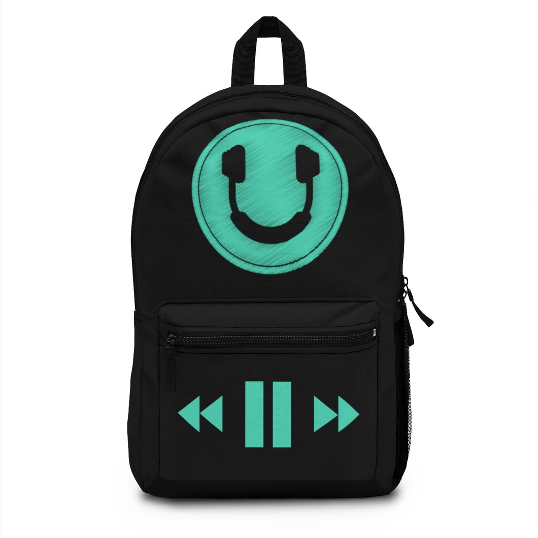 Smiling Headphones DJ Backpack