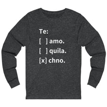 Te: Option Long Sleeve grey
