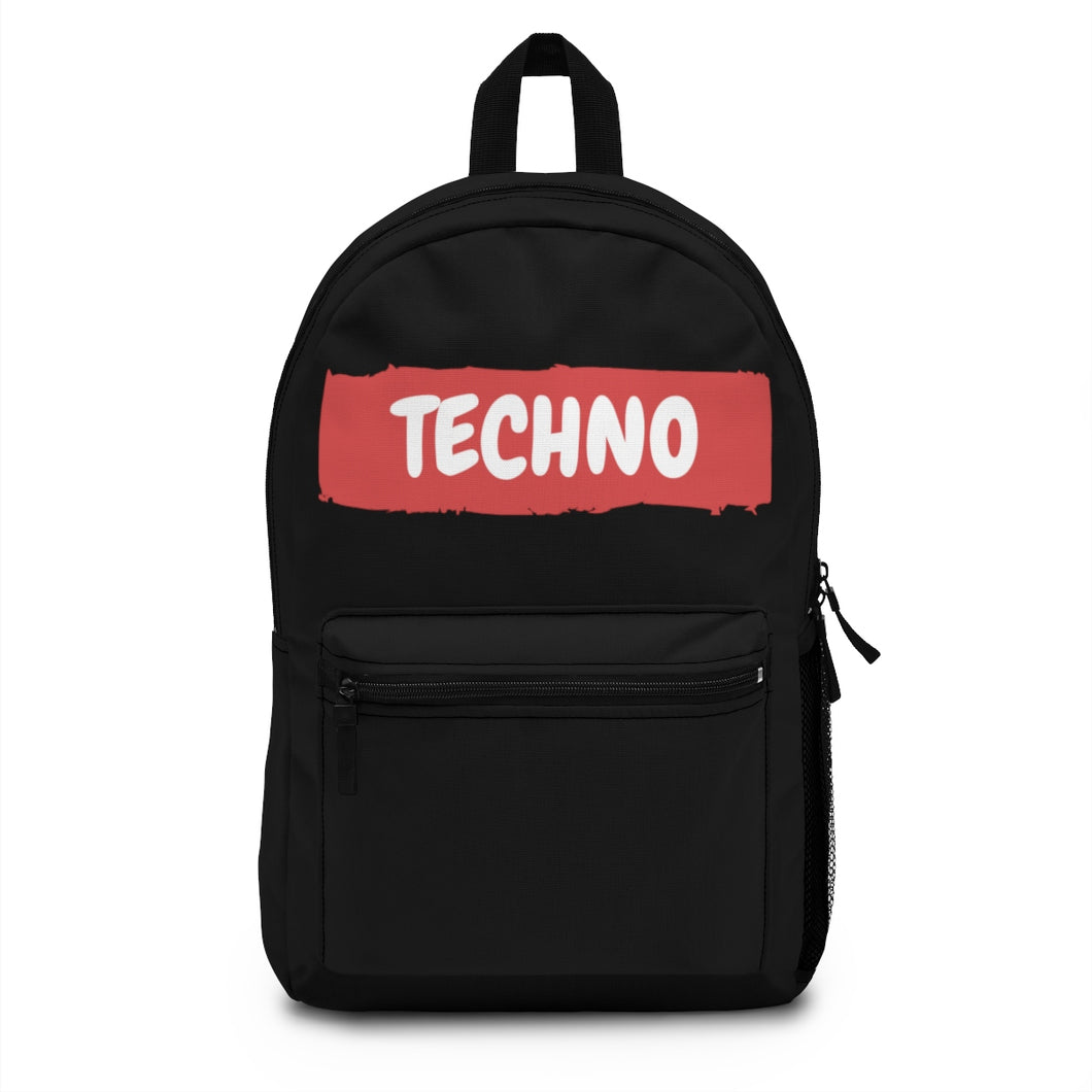 Techno Paint Backpack