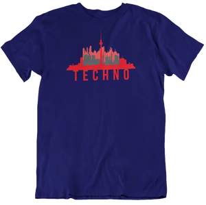 Berlin Techno Skyline Tee