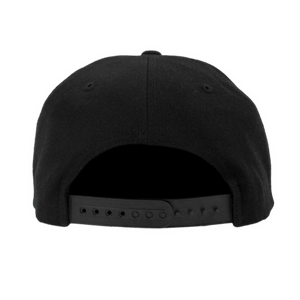 Techno Hat Black back