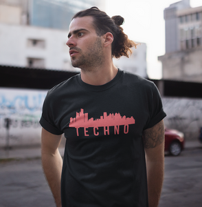 Detroit Techno Skyline Tee
